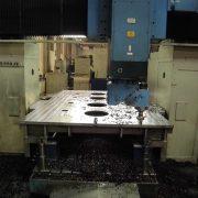 Maschinenständer auf Portalfräsmaschine