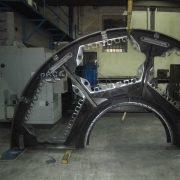 Tisch-Segment für eine Rundtakt-Maschine, Durchmesser 4.500 mm