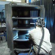 BEN-Maschinenbau - Schweißen eines Rotors