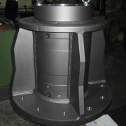 BEN-Maschinenbau - Drehturm, gestrahlt