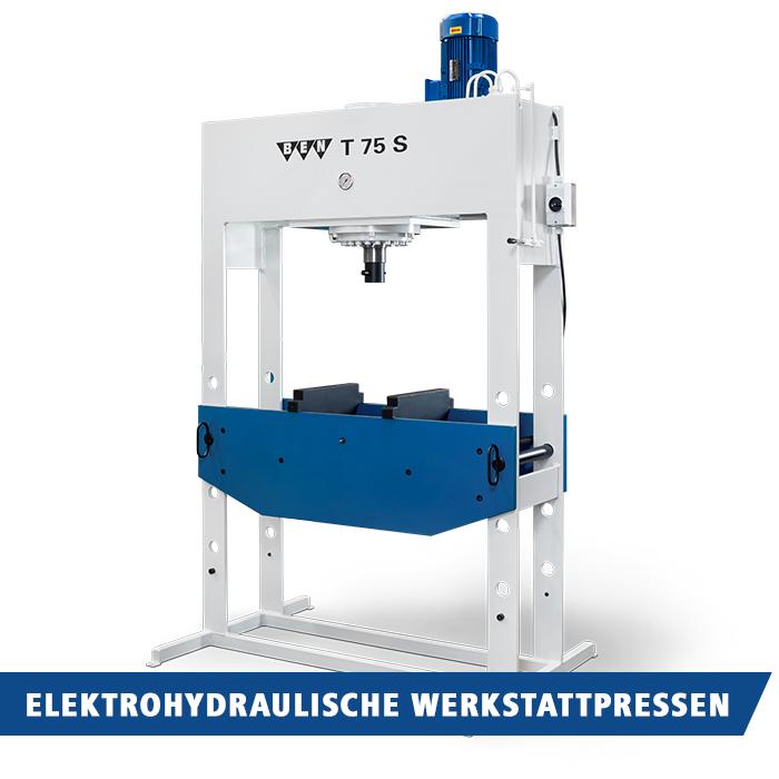 elektrohydraulische BEN Werkstattpressen