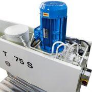 Detail Werkstattpresse BEN T 75 S – Hydraulikaggregat im Pressenkopf